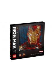 Marvel Studios Iron Man Lego Art