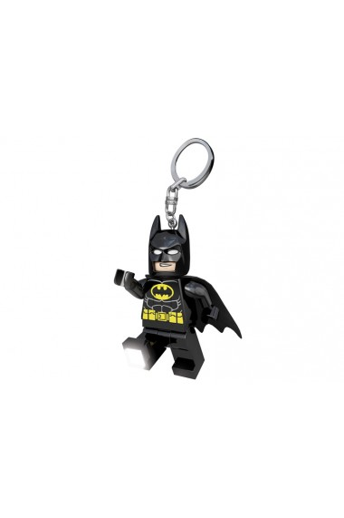 Breloc cu lanterna Lego Batman negru