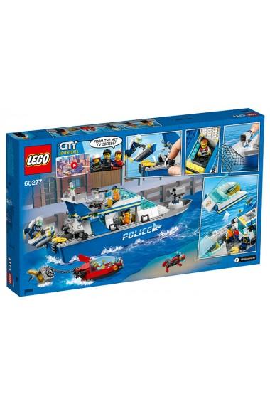 Barca de patrula a politiei Lego City