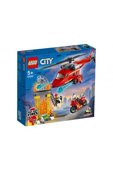 Elicopter de pompieri Lego City