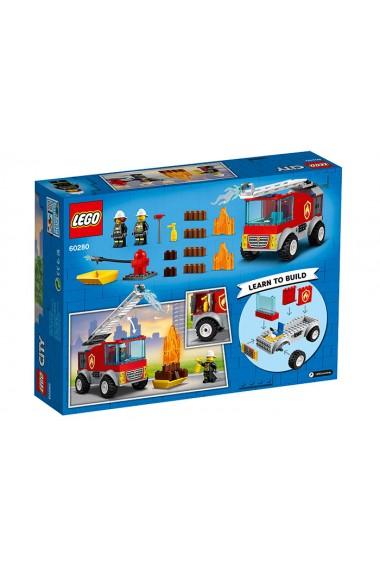 Masina de pompieri cu scara Lego City