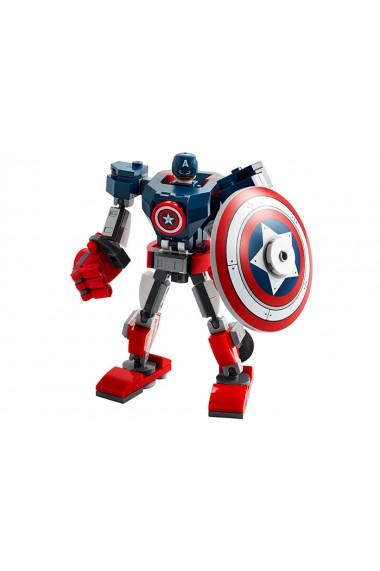 Armura lui Captain America Lego Marvel Super Heroes