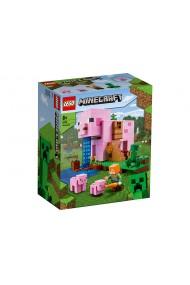 Casuta purcelus Lego Minecraft
