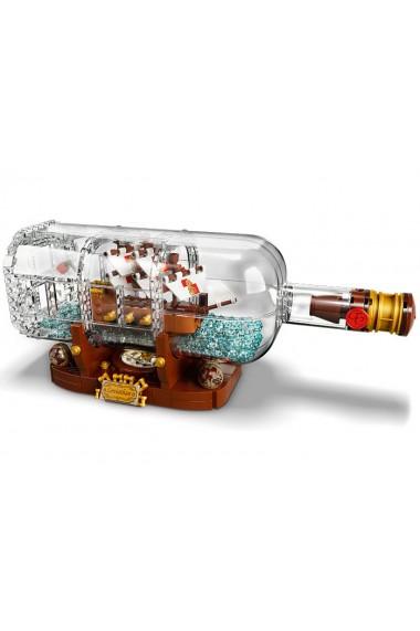 Corabie in sticla Lego Ideas