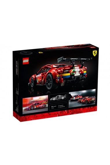 Ferrari 488 GTE AF Corse Lego Technic