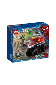 Monster Truck Spider Man si Mysterio Lego Marvel Super Heroes