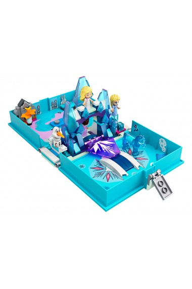 Carte de povesti Elsa si Nokk Lego Disney