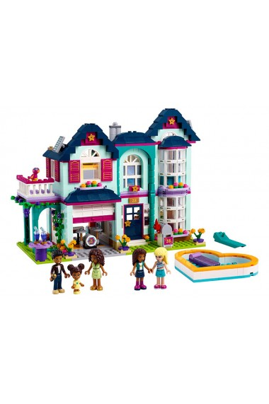 Casa familiei Andreei Lego Friends