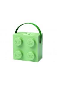 Cutie pentru sandwich 2x2 verde Lego