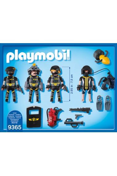 Echipa Swat Playmobil City Action