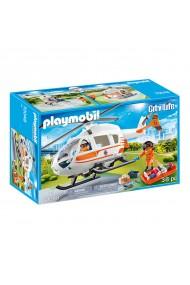 Elicopter de salvare Playmobil City Life