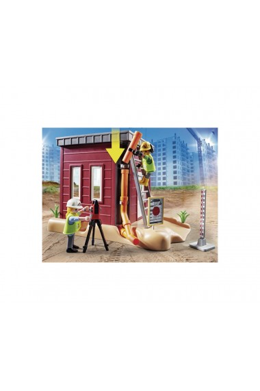 Excavator mic Playmobil City Action