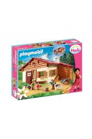 Heidi si cabana din munti Playmobil Heidi