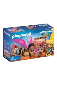 Marla si Del cu calul inaripat Playmobil Movie