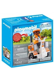 Medic cu masina de echilibru Playmobil City Life