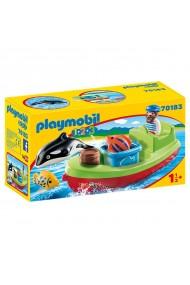 Pescar cu barca Playmobil 1.2.3