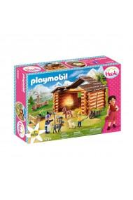 Peter la grajdul caprelor Playmobil Heidi
