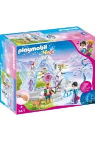 Poarta de cristal si taramul inghetat Playmobil Magic