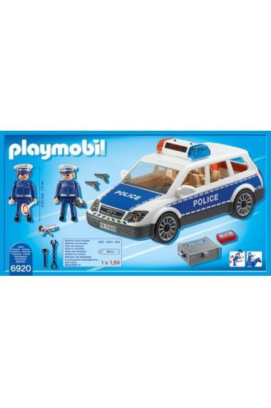 Masina de Politie Playmobil City Action