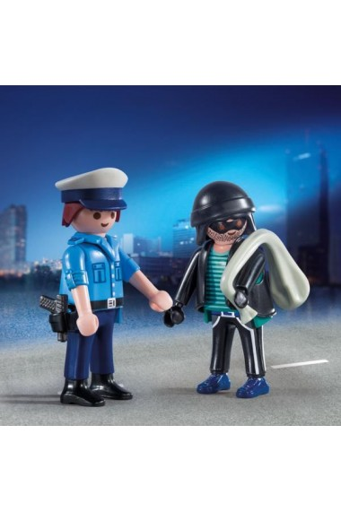 Politist si hot Playmobil City Action