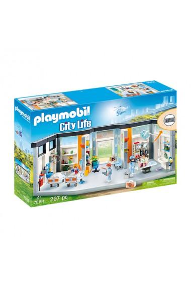 Salon spital mobilat Playmobil City Life