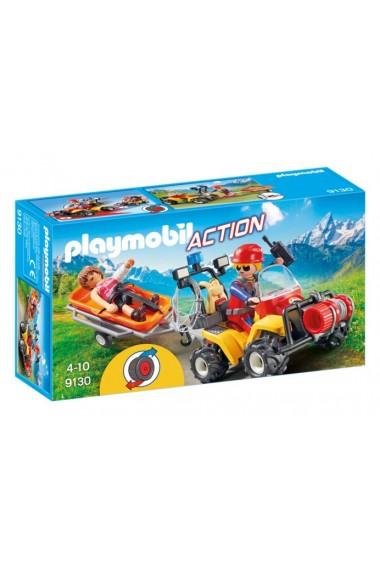 Salvatori montani cu targa Playmobil Action