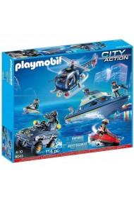 Set vehicule de politie Playmobil City Action