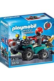 Vehiculul hotului Playmobil City Action