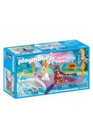Barcuta zanelor cuplu romantic Playmobil Fairies