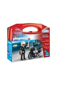 Set portabil Politie Playmobil City Action