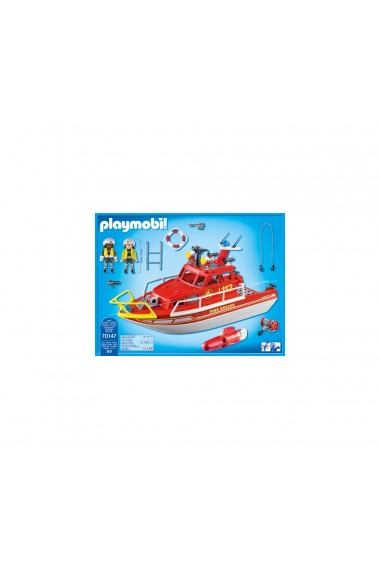 Barca de salvare Playmobil City Action
