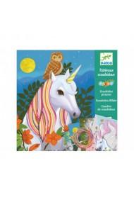 Atelier creativ cu Unicorni Djeco