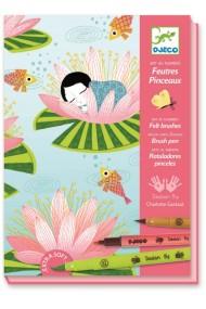 Atelier creativ de colorat Nymphea Djeco