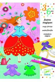 Atelier creativ de desen rochii Djeco