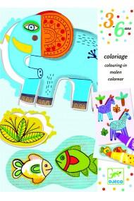 Atelier creativ de desen ZooZoo Djeco