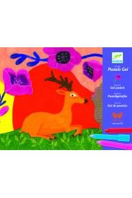 Atelier creativ desen animale salbatice Djeco