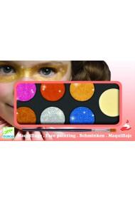 Culori make-up non alergice metalic Djeco