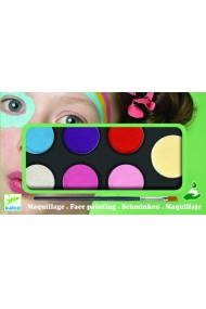 Culori make-up non alergice pastel Djeco