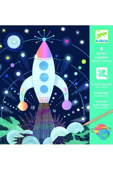 Joc creativ de razuit Cosmos Djeco