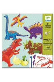 Joc creativ dinozauri in miscare Djeco