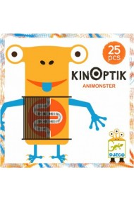 Joc creativ magnetic Kinoptik animonsters Djeco
