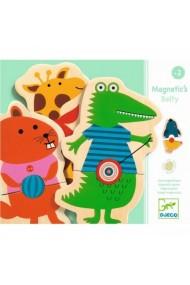 Joc cu magneti animale cu buline Djeco