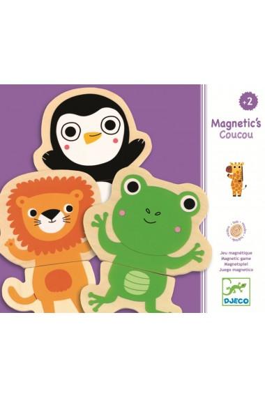 Joc cu magneti animale prietenoase Djeco