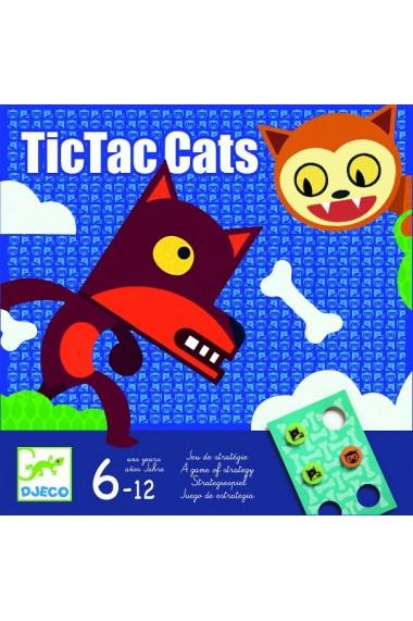 Joc TicTac Cats Djeco