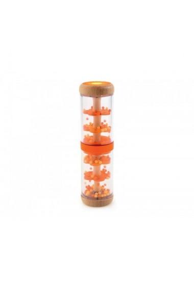 Jucarie bebe Ploaie colorata portocaliu Djeco