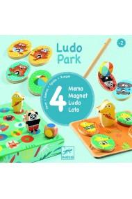 Ludo park primele 4 jocuri Djeco