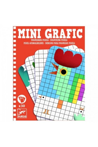 Mini grafic Pixeli Djeco
