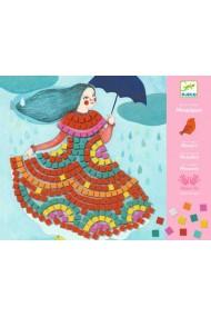 Mozaic joc creativ Rochii de bal Djeco