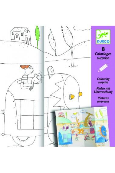 Planse desen ascunselea Djeco