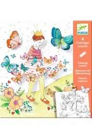 Planse desen cu surprize Lady butterfly Djeco
